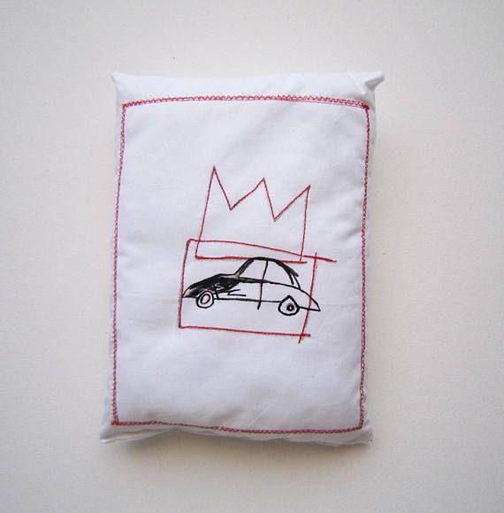 Decorazione casa Basquiat cuscino decorativo graffiti regalo