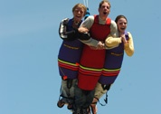 Xtreme Skyflyer is Canada's largest free-fall swing!   Height Requirement: 48 inches