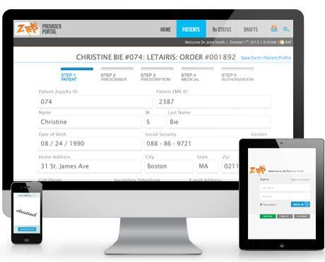 ZappRX App generates digital prescriptions for doctors and ...