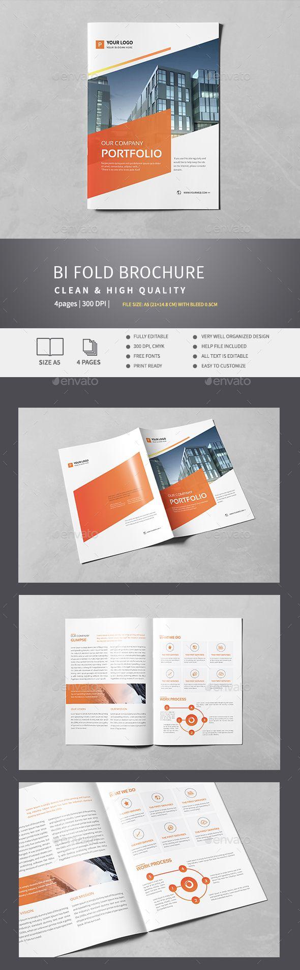Corporate Bi-Fold Brochure v.1
