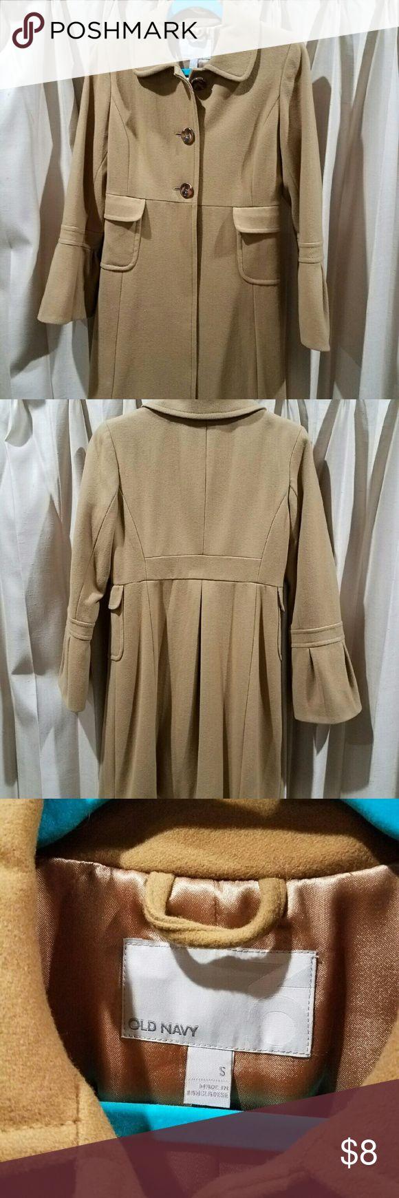 Old Navy Pea Coat Like new, camel color, lined. Old Navy Jackets & Coats Pea Coats