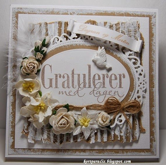 Handmade Kortparadis North Star Stamps North Star Design NDS NSS Stamps Handmade Shabby Chic Scrapping