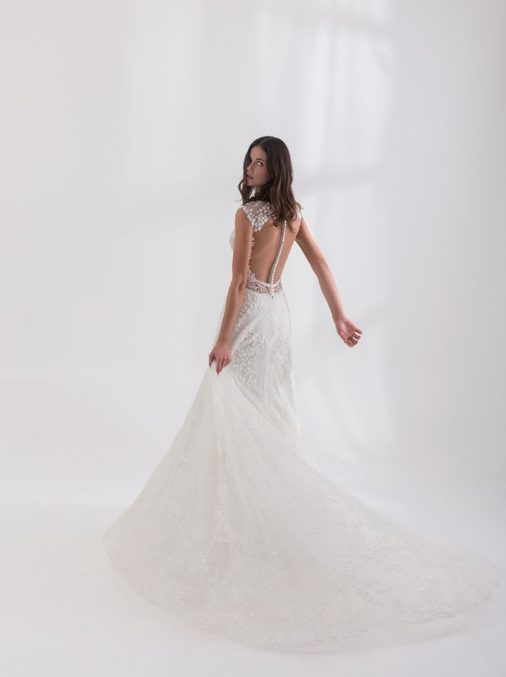 """""""Antonela"""" from Costantino's SS18 Dreamland Collection.    #greekdesigners #weddingdress #bridal #couture"""