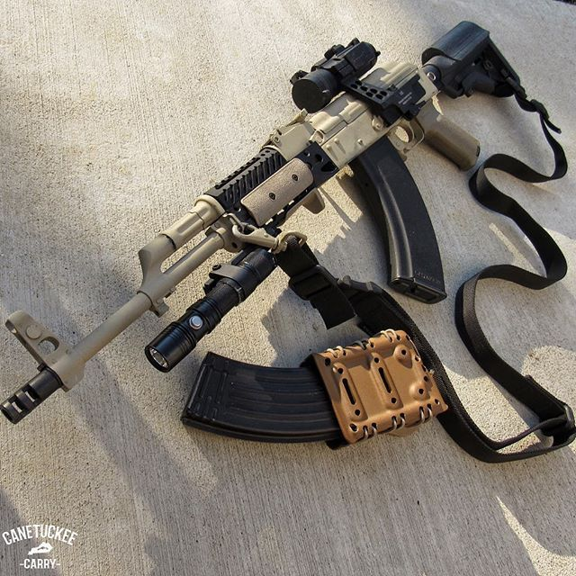 It's amazing what a can of spray paint can do to a rifle…