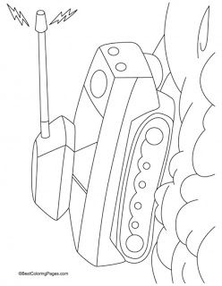 Tank Coloring Pages | Kids coloring pages