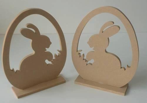 Ξυλινο πασχαλινο αυγο με εσωτερικη διακοσμηση λαγουδακι. Διασταση 23 χ 19cm απο MDF 8''. Καταλληλο για ζωγραφικη , decoupage και αλλες τεχνικες. Ιδανικο για την διακοσμηση του πασχαλινου τραπεζιου. #MDF #Easter #decor #handmade #decoupage #crafting #painting #Πασχα #διακοσμηση #ξυλινο #ξυλινοαυγο