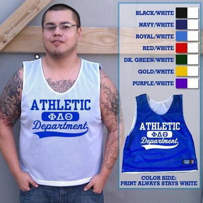 Fraternity Reversible Lacrosse Pinnie $19.95 #Greek #Fraternity #Clothing #Lacrosse #Pinnie #GreekWeek BOSS