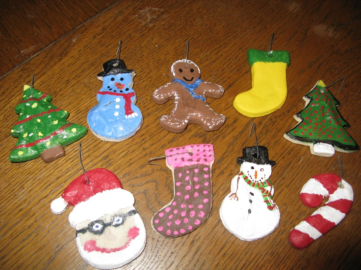 What Kind Of Christmas Decorations Are Used In Spain : Best images about salt dough ornaments on