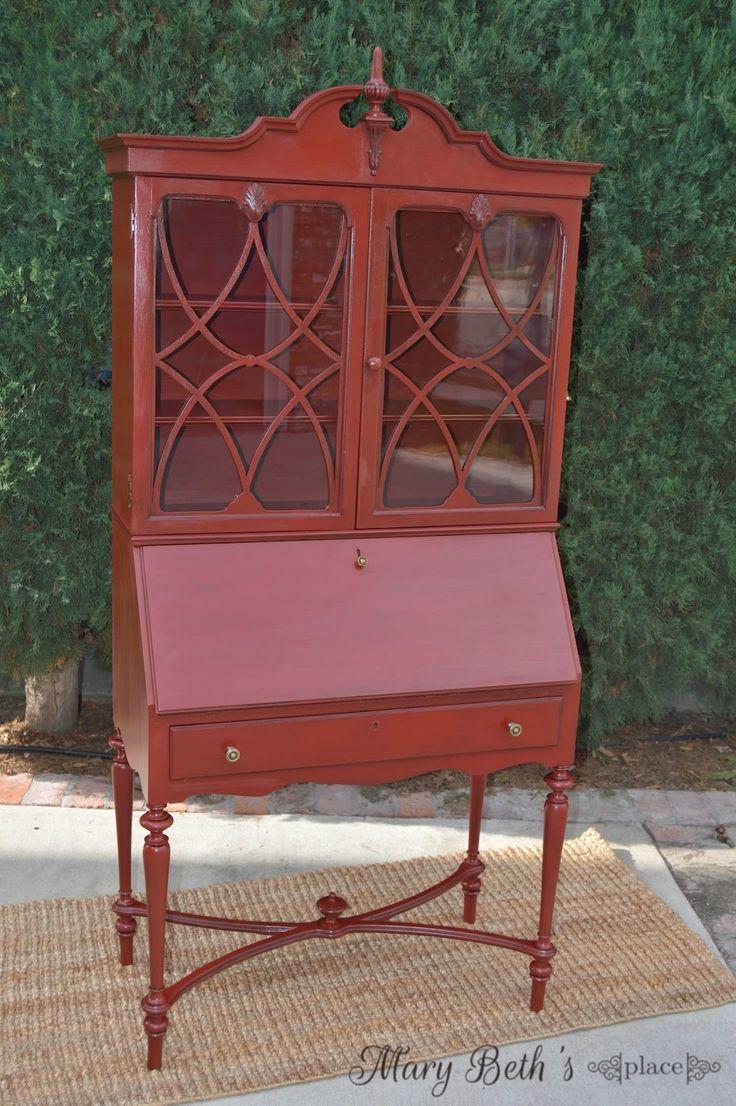 17 best images about vintage secretary desks on pinterest. Black Bedroom Furniture Sets. Home Design Ideas