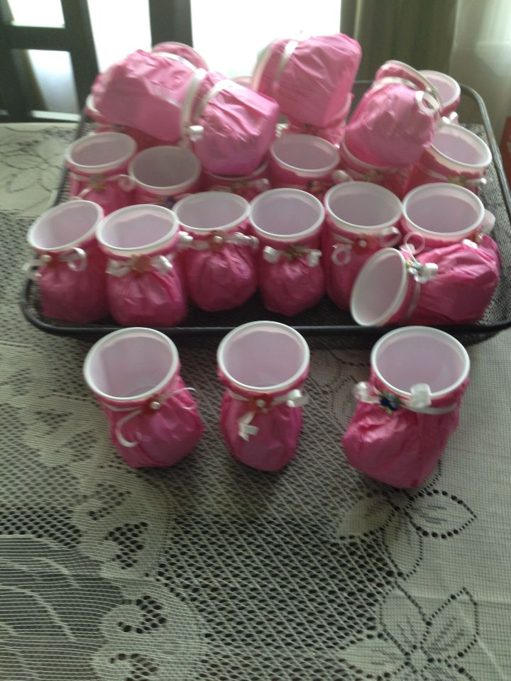 Baby Girl Baby Shower Favors