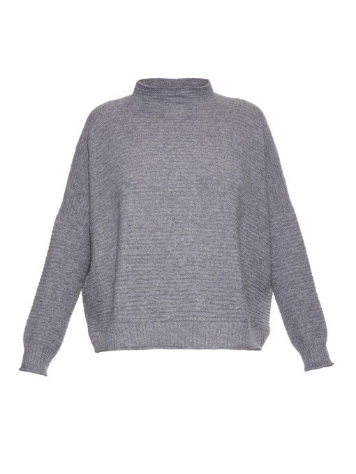 Esk June ribbed cashmere-knit sweater