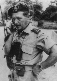 """Mike Hoare also known as """"mad"""" Mike Hoare. One of the most famous or infamous mercenary's of the 20th Century"""