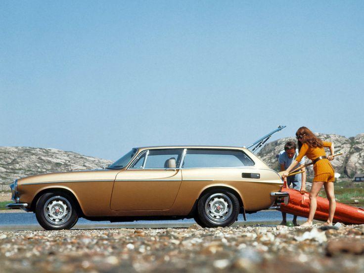 Volvo P1800 ES (this was my first car, in blue-catt)