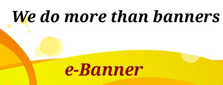 We have a specialized team of Graphic Designers and Animators who design online E-banners such Static web banners, animated web banners, Flash banners etc of all sizes and dimensions.