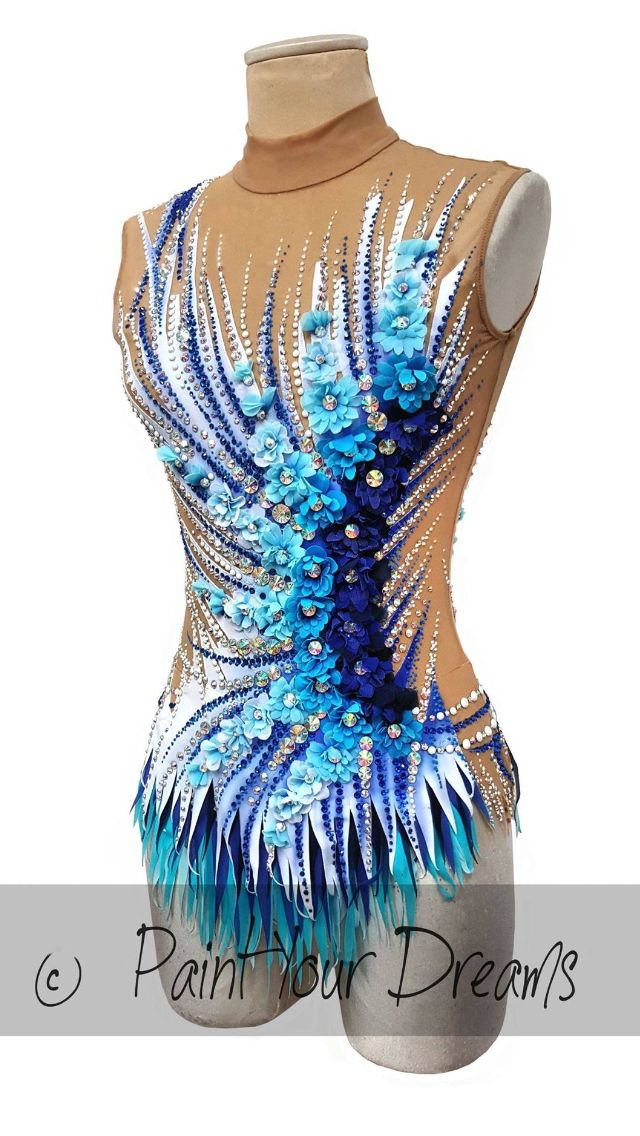 RIO 2016 Danni Prince Leotard number 395 Body numero 395 from Paint your dreams