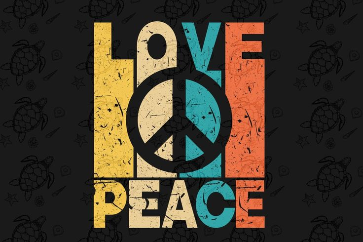 Love peace, love peace svg, love vintage, reto vintage svg ...