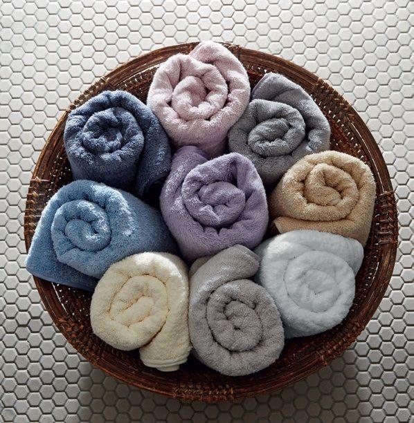 Пушистые и мягкие полотенца новой коллекции - гордость банной линии S/S 2017 от дома Frette.