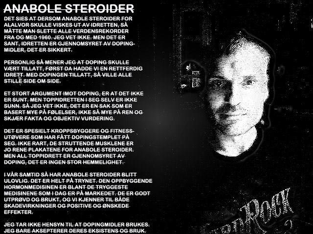 anabole steroider, treningslære fra tidligere toppidrettstrener