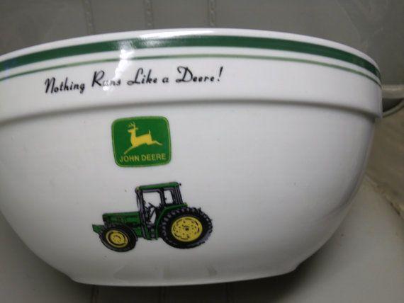 John Deere Bowl : John deere bowls by neilsellers on etsy  a