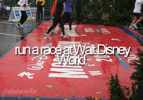 I've done two Disney 5k runs. Next, I'm running the Disney Princess Half Marathon (2/26/2012) and I can't wait!!!!!  Disney runs are the BEST!!!!!!!! I will do this no doubt