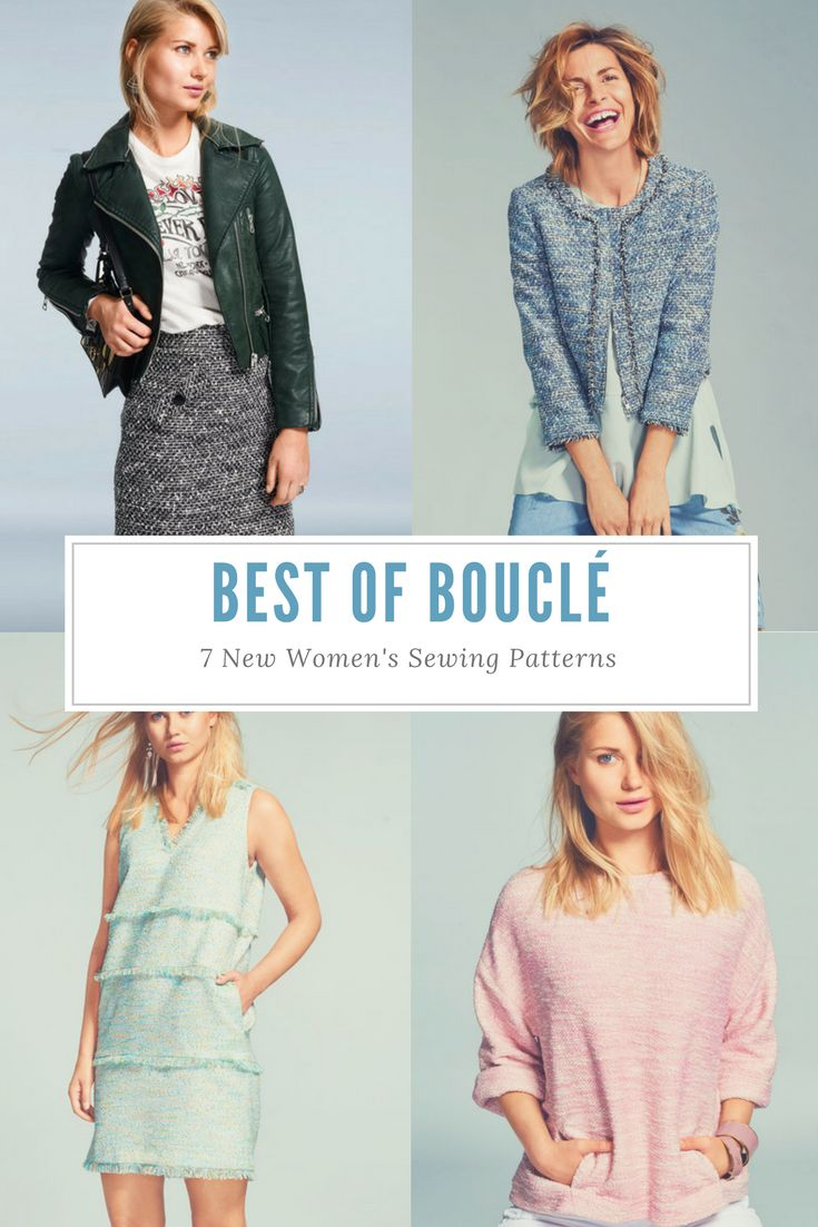 380 best sewing patterns collections images on pinterest best of boucl 7 new womens sewing patterns jeuxipadfo Choice Image