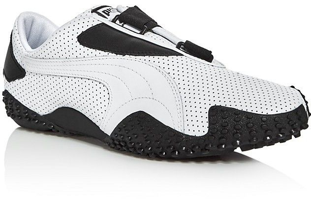 Puma Mostro Perforated Leather Sneakers