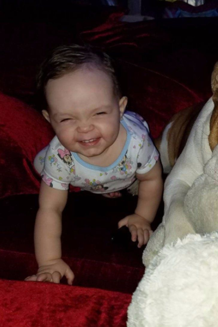 """Baby Chanel's """"Cheeseball"""" Face Will Instantly Make You Happy"""