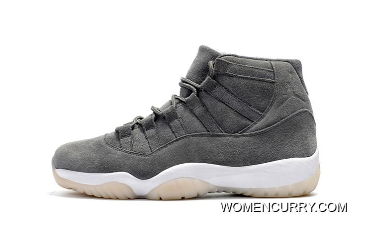 """https://www.womencurry.com/air-jordan-11-retro-premium-suede-cool-grey-sail-release-cheap-to-buy.html AIR JORDAN 11 RETRO PREMIUM """"SUEDE"""" COOL GREY/SAIL RELEASE CHEAP TO BUY Only $93.87 , Free Shipping!"""