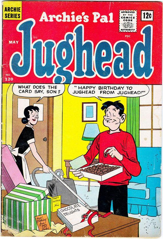 Archie's Pal Jughead 120, Archie Comic Publications, Inc. https://www.pinterest.com/citygirlpideas/archie-comics/