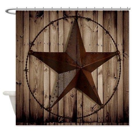 western texas star Shower Curtain on CafePress.com