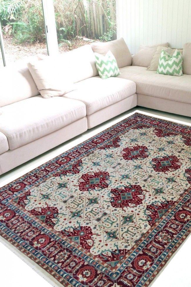 Buy Beautiful Handknotted Jewel Traditional Wool Area Rug Large Area Rugs Rugs In Living Room Area Rugs For Sale #traditional #rugs #for #living #room