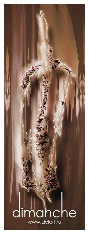 Упаковка: Дизайн этикетки для женской одежды. #Secret_Art_Print.