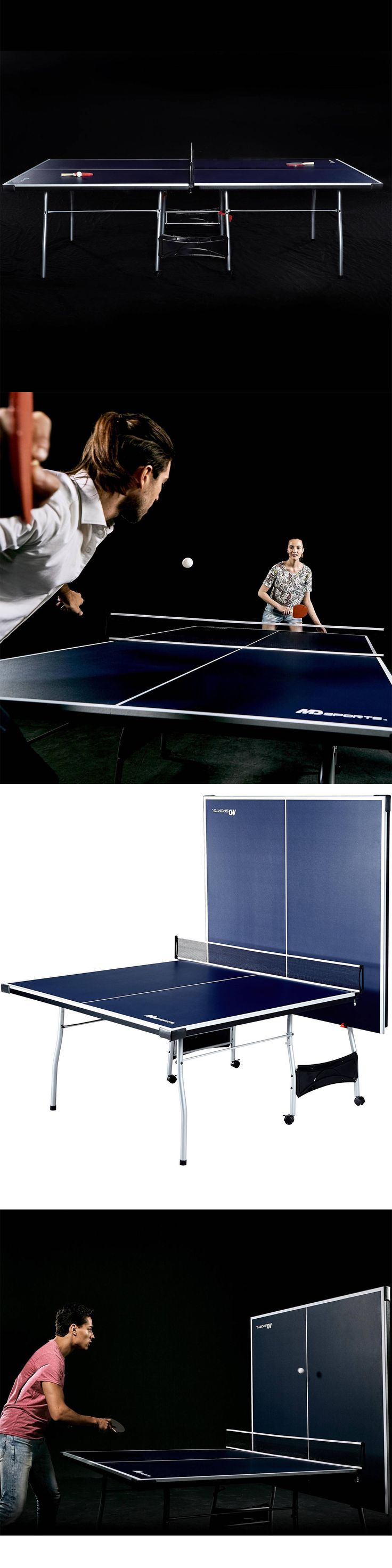 Tables 97075: Ping Pong Table Indoor Outdoor Table Tennis Foldable Tournament Size 4-Piece New -> BUY IT NOW ONLY: $139.75 on eBay!