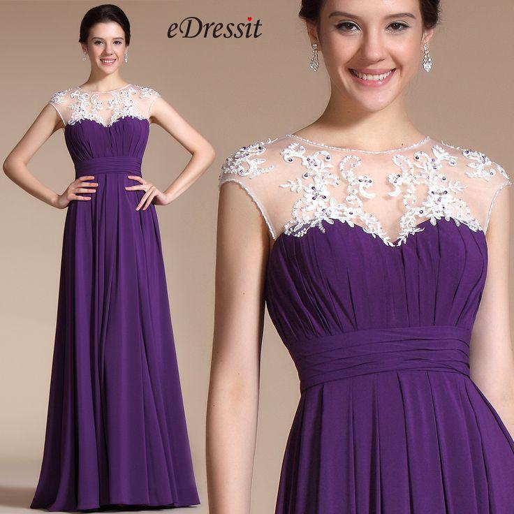 Schmuck zu violettem kleid