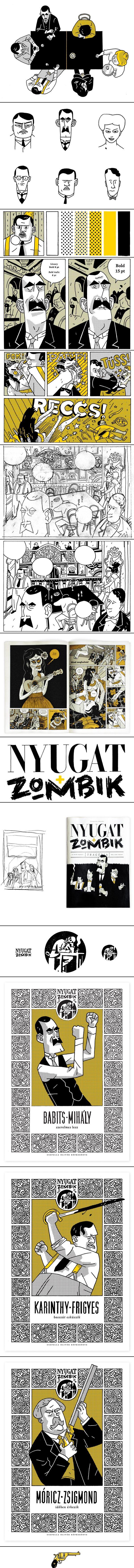 Nyugat + Zombik - created via http://pinthemall.net