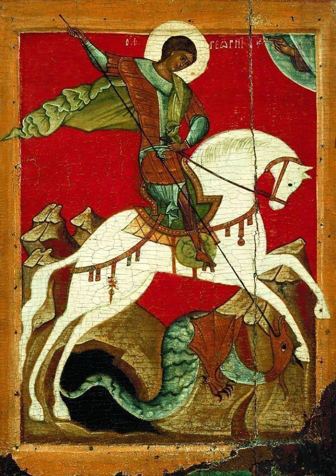 Πνευματικοί Λόγοι: Ο άγιος Γεώργιος και η Κύπρος