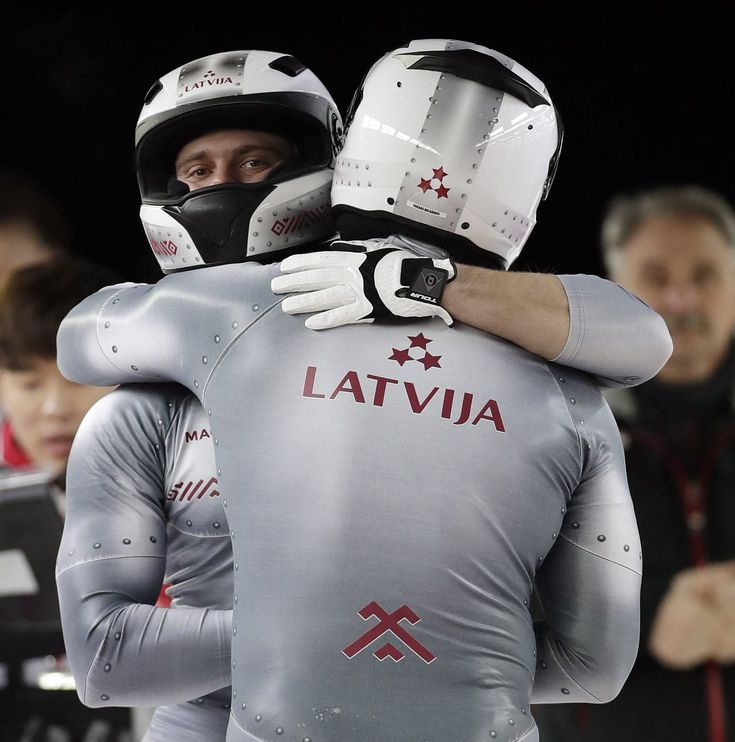 Latvian bobsledders have the very best uniforms | For The Win