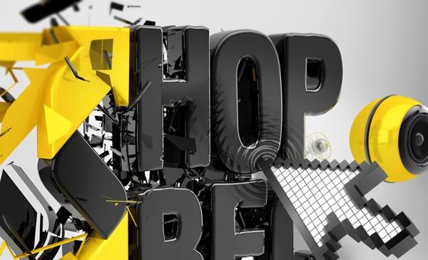 RMF Maxxx, lista HOP BĘC by Agencja Kreatywna Pompidou , via Behance