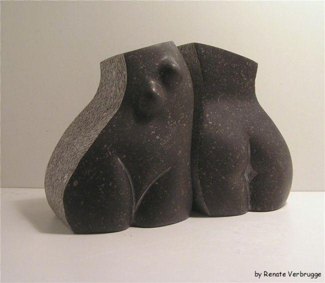 Dancing_Sisters_(4).jpg - Sculpture ©2009 by Renate Verbrugge -