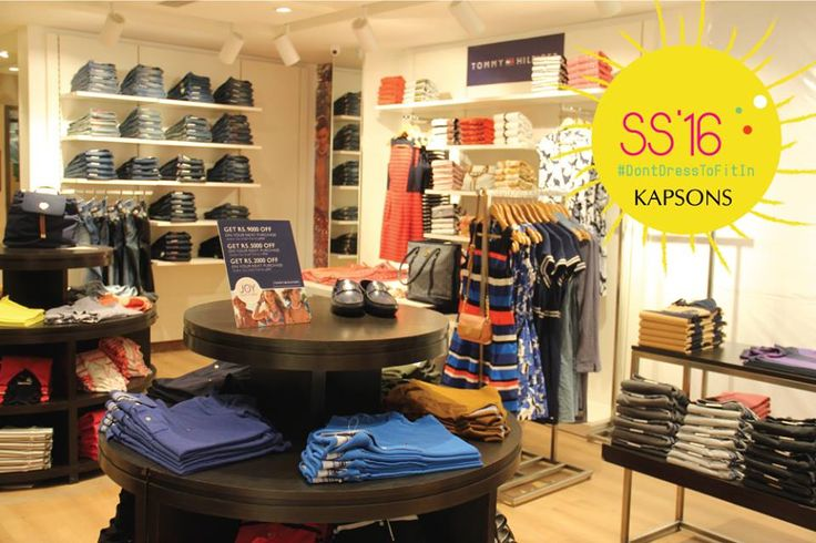 Because every time is shop O'clock time!!! Visit Kapsons for the best fashion this summer. #Kapsons #SS16 #DontDreeToFitIn