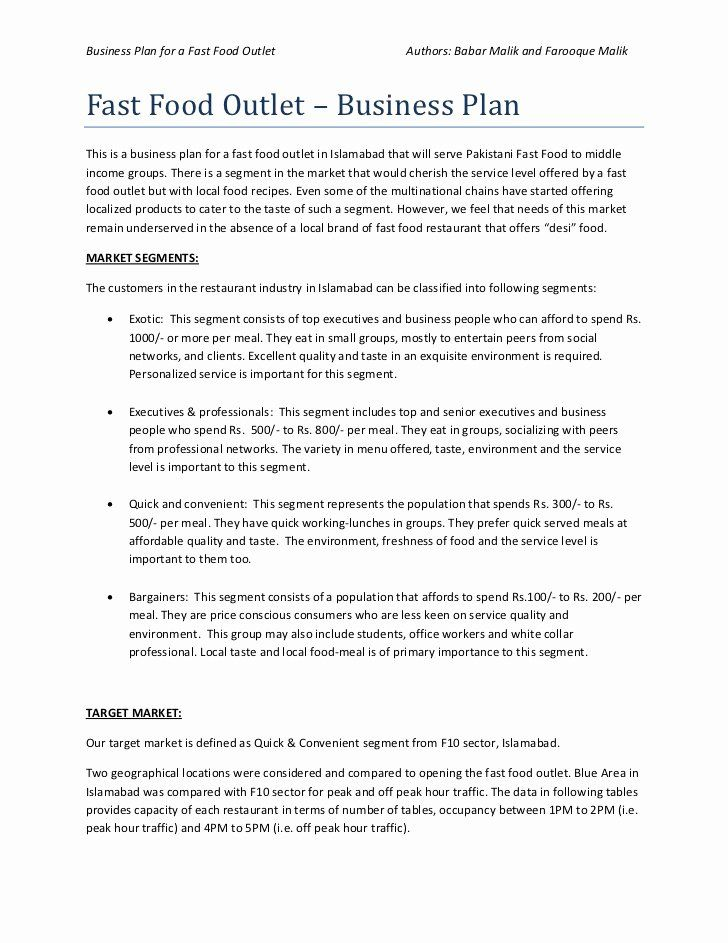Simple Restaurant Business Plan Template Best Of School Food Service Manager R Restaurant Business Plan Business Plan Template Word Business Plan Template Free