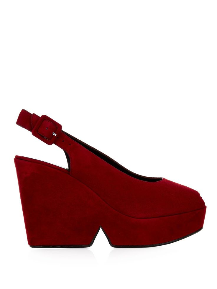 Dylan suede wedge sandals | Robert Clergerie | MATCHESFASHION.COM UK