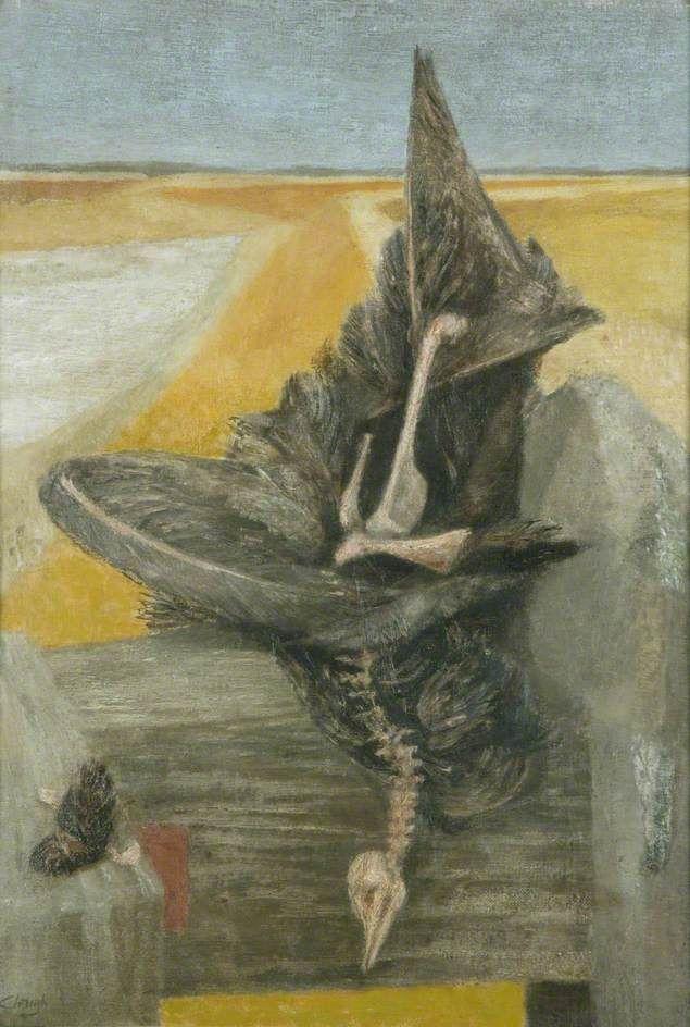 The Dead Bird, 1946 by Prunella Clough (British 1919-1999)