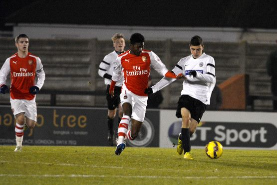 Arsenal v Royston Town: FA Youth Cup
