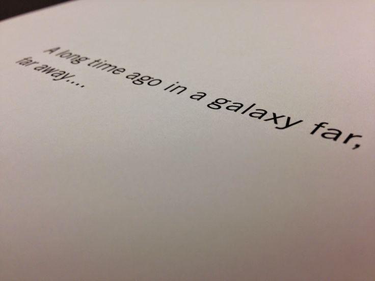 Gary Whitta Posts Teaser Picture of Stand Alone Film Script   The Star Wars Underworld