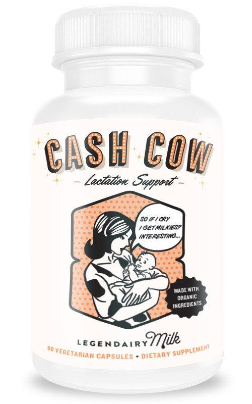 Cash Cow, lactation supplements, milk supply, baby, new mom, breastfeeding