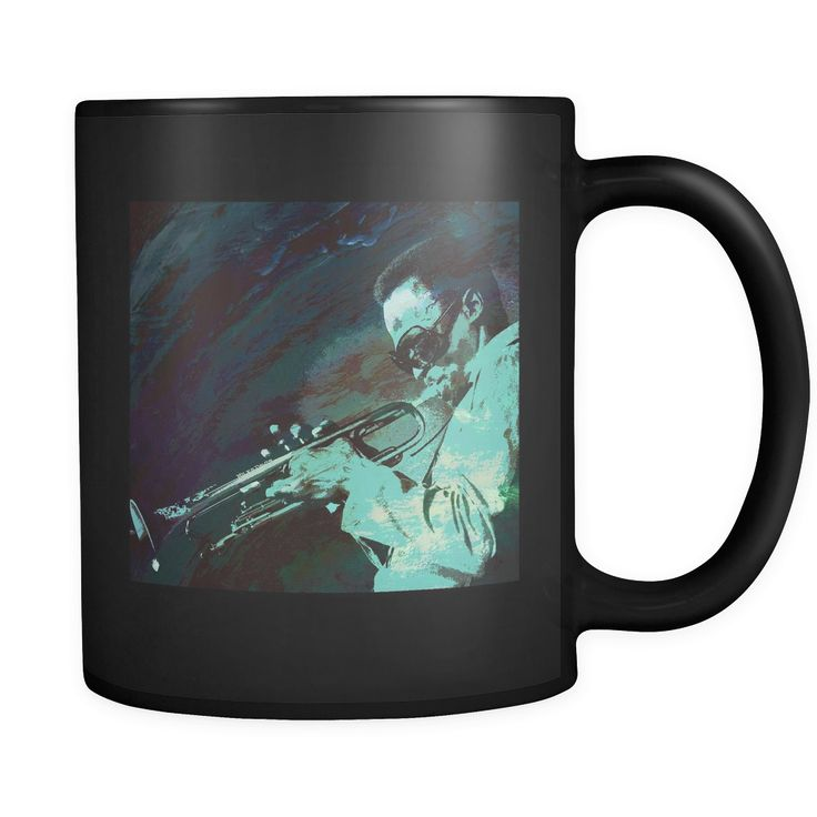 Miles Davis - Birth Of The Cool Jazz Black Mug