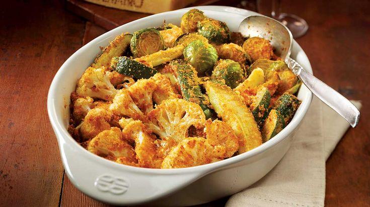 Essayez cette recette de légumes grillés au Parmigiano Reggiano