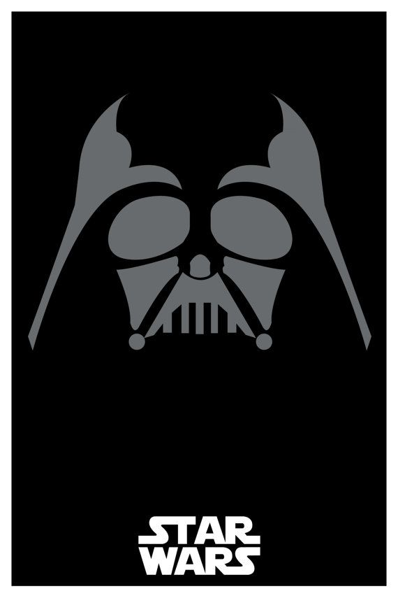 Star+Wars+custom+minimalistic+poster+set+matte+by+SPACEBARdesigns,+$37.00