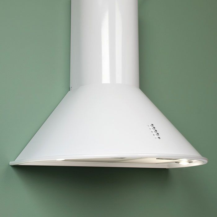"Provence Series 30"" Wall Mount White Range Hood - $450 at Signature Hardware…"